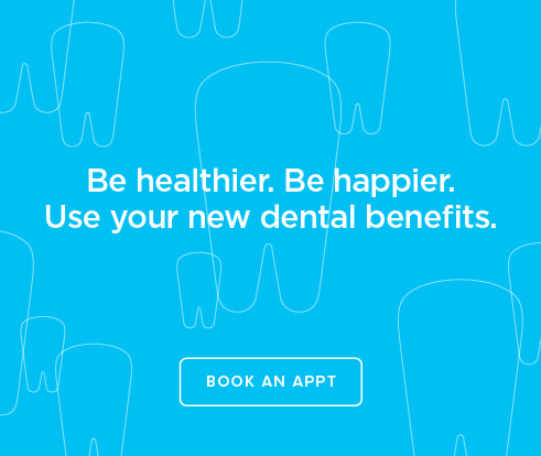 Be Heathier, Be Happier. Use your new dental benefits. - Marketplace Dentistry